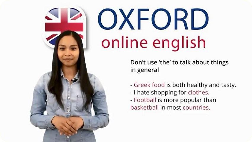 مجموعه آموزش های ویدیویی «Oxford Online English»
