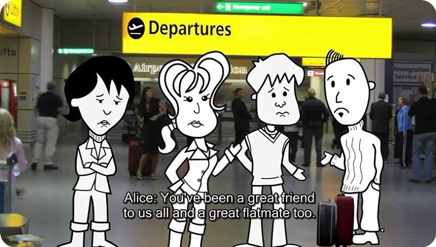 مجموعه The Flatmates (BBC Learning English) #02