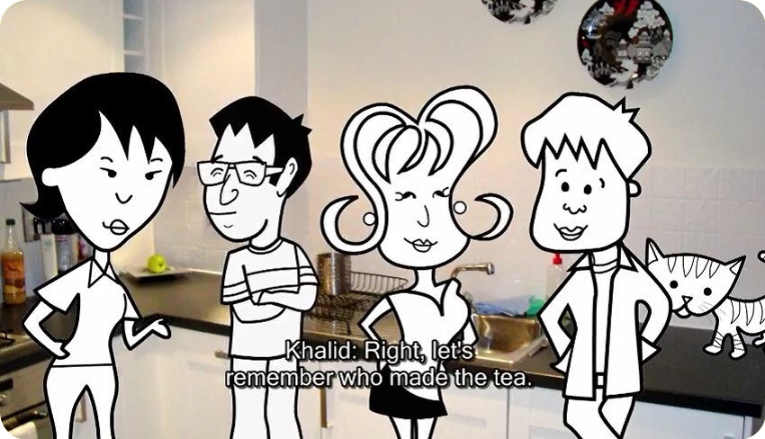 مجموعه The Flatmates (BBC Learning English) #05