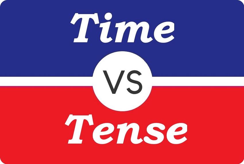 مفهوم زمان در زبان انگلیسی (Time vs. Tense)