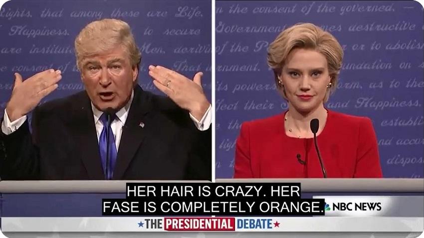 ZABANDAN | United States presidential debates, 2016 #01 - funny