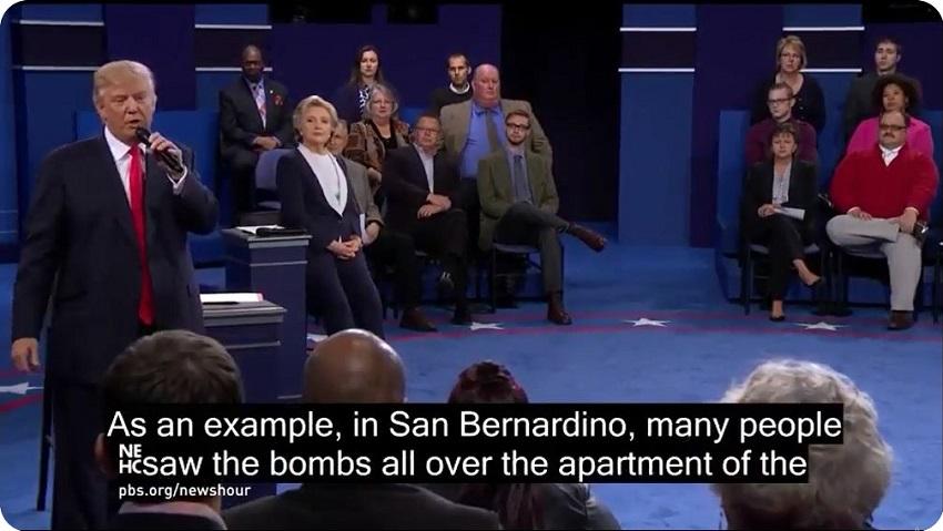 ZABANDAN | United States presidential debates, 2016 #03