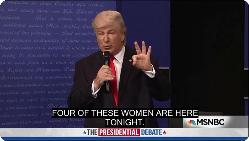 ZABANDAN | United States presidential debates, 2016 #03 - funny