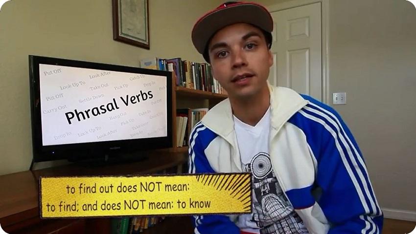 ZABANDAN   Daily Phrasal Verbs With Kris #02