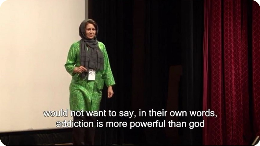 Walking on Thin Ice - The Two Sides of Addiction - Leila Arshad TEDxUniversityofNevada #01